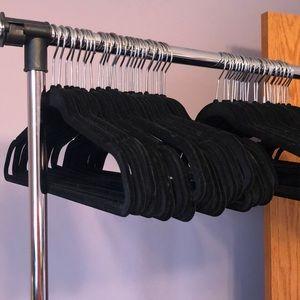 Black Velvet Hangers